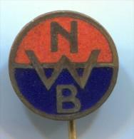 NWB - Netherlands, Vintage Pin, Badge, Enamel - Water-skiing