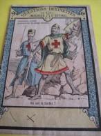 Questions -devinettes/'Imagerie D'Epinal / Chevaliers Croisés Poursuivant Le Sultan Saladin/Série I/Vers 1880     IM686 - Other