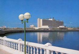 AK Libyen LIBYA TRIPOLI UZU HOTEL  ALTEN POSTKARTEN - Libyen