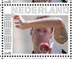 Persoonlijke Postzegel Cendris CRICKET Test Bowlers Nr 1 Dale Steyn South Africa - Netherlands