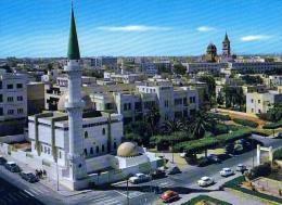 AK Libyen LIBYA TRIPOLI AUTOMOBIL TRAFIC ALTEN POSTKARTEN - Libye