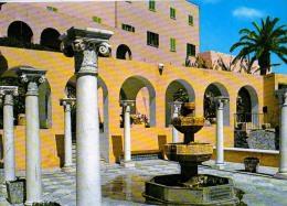 AK Libyen LIBYA TRIPOLI  COMMUNALI CASTLE ALTEN POSTKARTEN - Libyen