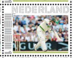 Persoonlijke Postzegel Cendris CRICKET Salman Butt Pakistan - Netherlands