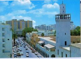 AK Libyen LIBYA JAMAL ABDEL NASSER STREET  ALTEN POSTKARTEN - Libyen