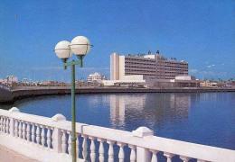 AK Libyen LIBYA BENGHAZI UZU  HOTEL ALTEN POSTKARTEN - Libyen