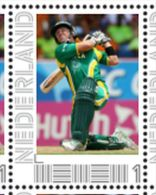 Persoonlijke Postzegel Cendris CRICKET AB De Villiers South Africa - Netherlands