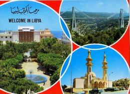 AK Libyen LIBYA ALTEN POSTKARTEN - Libya