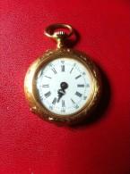 VINTAGE -  MONTRE  DE POCHE EN OR - Watches: Bracket