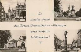 CPA-1955-FORCES FRANCAISES EN ALLEMAGNE-LE SERVICE SOCIAL VOUS SOUHAITE LA BIENVENUE-TBE - Autres