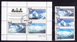 Kirgisien Kyrgyzstan Kirghizistan - Jahr der Berge/Year of Mountains/Ann�e de la montagne 2000 - gest. used obl.
