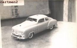 CARTE PHOTO : AUTO-TELEGUIDEE SCHUCO MECANIQUE ALLEMAGNE 1950 JEU JOUET TOY Dinky Toys JEP NOREV MINALUXE SCHUCO - Non Classificati