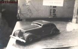 CARTE PHOTO : AUTO-TÔLE AERODYNAMIQUE MECANIQUE 1935 FRANCE JEU JOUET TOY Dinky Toys JEP NOREV MINALUXE SCHUCO - Non Classificati