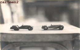 CARTE PHOTO : FRAZE-NASH BMW SPORT DINKY-TOYS 1939 JAGUAR SPORT JEU JOUET TOY Dinky Toys JEP NOREV MINALUXE SCHUCO - Voitures, Camions, Bus