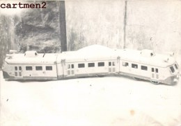 CARTE PHOTO : AUTORAIL NORD TRAIN EXPOSITION JEU JOUET TOY Dinky Toys JEP NOREV MINALUXE SCHUCO - Locomotives