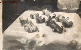 CARTE PHOTO : FERRARI TALBOT VANWALL ETOILE FILANTE SOLIDO EXPOSITION JEU JOUET TOY Dinky Toys JEP NOREV MINALUXE SCHUCO - Voitures, Camions, Bus