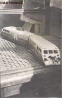 CARTE PHOTO : AUTORAIL BUGATTI JOUET HORNBY 1952 TRAIN TOY JEU JOUET Dinky Toys JEP NOREV MINALUXE SCHUCO - Photographs
