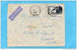 MARCOPHILIE-lettre -T O E -poste Aux Armées  -INDOCHINE-1949-+afft Taxe Avion 20frs Pointe Du Raz- Pour Françe - Marcophilie (Lettres)
