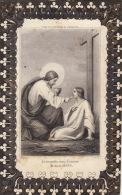 Mortuaire Rosalie FJ Coppée Veuve Ghiselain Decedee à Mons 1859 - Images Religieuses