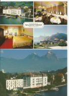 BRUNNEN Schwyz Seehotel Hotel WALDSTÄTTERHOF 2 Karten - SZ Schwyz