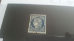 LOT 223218 TIMBRE DE FRANCE OBLITERE N�4 VALEUR 60 EUROS
