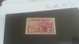 LOT 223238 TIMBRE DE FRANCE NEUF* N�168 VALEUR 36 EUROS