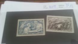 LOT 223243 TIMBRE DE FRANCE NEUF** N�451/452 VALEUR 12 EUROS