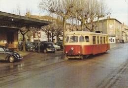 CPSM Arrivée D'un Autorail Billard à La Halte De Castres-Albinque, 29/12/1962 - Ligne Métrique De 75 Km Castres à Murat - Treni