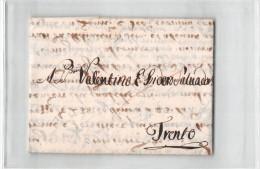 11755 BERGAMO X TRENTO ANNO 1775 - Italie