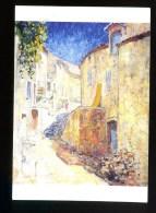 Louis Denis Valvérane  Une Rue à Gréoux Les BAins - Peintures & Tableaux