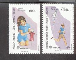 CEPT Kinderspiele Zypern Türk. 249-250 A  MNH ** Postfrisch - Europa-CEPT