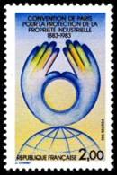 France N° 2272 ** Convention De Paris Pour La Protection De La Propriété Industrielle - Nuovi