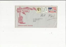 Enveloppe Timbrée De Exp Pink-Sands  Harbour Island  Bahamas  Adressé A Mr George Freidrichs A Annecy 74 - Correo Aéreo