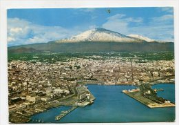 ITALY  - AK 206629 Catania - panorama