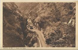 49Fc    06 Beuil Route De Cians Tacots Camions - Francia