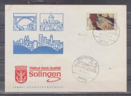 Lettre Distribué Dans 1973 Route Allemagne - Bucuresti - BRD