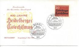 Germany (BRD) 1963  Heidelberger Katechismus   FDC  Mi.396 - [7] Federal Republic