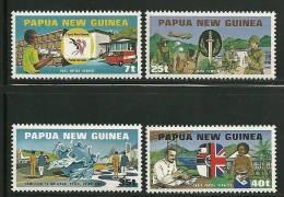 Papua New Guinea       UPU      Set    SC# 512-15 MNH** - Papua New Guinea