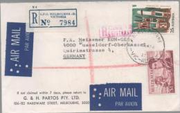 Lettre : Australie - Poststempel