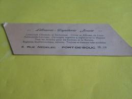 Jouve Photo / Librairie Papeterie / Appareils Photo Et Ciné Pour Tous/ PORT-DE-BOUC/ Vers 1945 ?      VP661 - Marque-Pages