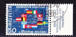 Schweiz Switzerland Suisse - CERN 1966 - Gest. Used Obl. - Europäischer Gedanke
