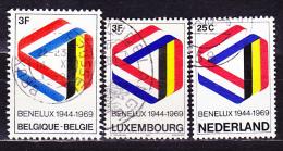 BENELUX 1969 - Gest. Used Obl. - Idee Europee
