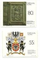 1988 - Azzorre 385/86 Stemmi, - Francobolli