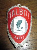 Plaque De Marque De Vélo/ TALBOT/ Vers 1950-1960     AC104 - Other