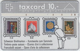 SWITZERLAND A-752 Hologram PTT - Collection, Stamp - 401A - used