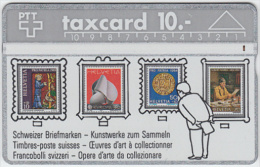 SWITZERLAND A-754 Hologram PTT - Collection, Stamp - 401B - used