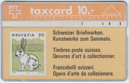 SWITZERLAND A-755 Hologram PTT - Collection, Stamp - 202A - used