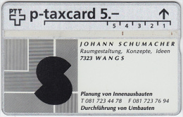SWITZERLAND A-779 Hologram PTT Private - 524L - used