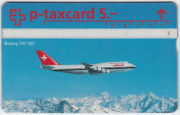 SWITZERLAND A-783 Hologram PTT Private - Traffic, Airplane - 329L - used