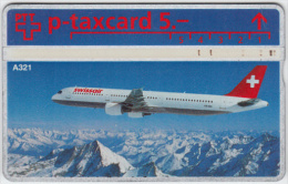 SWITZERLAND A-784 Hologram PTT Private - Traffic, Airplane - 512L - used