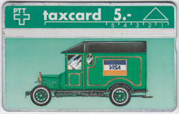 SWITZERLAND A-785 Hologram PTT Private - Painting, Traffic, Historic truck - 108E - used